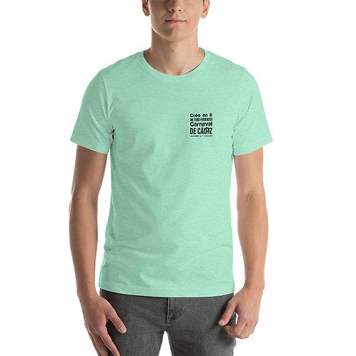 Camiseta  'Creo en ti, Oh todopoderoso Carnaval de Cádiz'