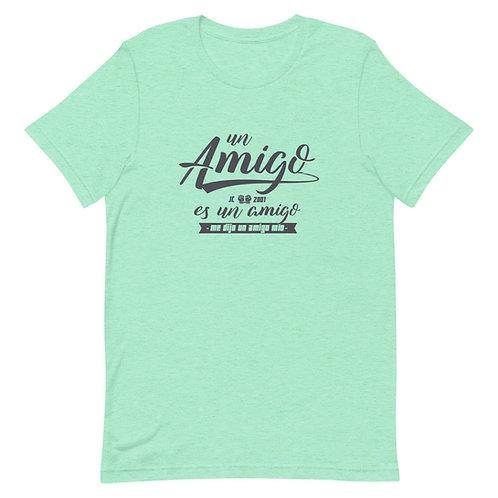 Camiseta 'Un amigo es un amigo'