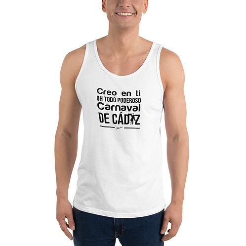 Camiseta 'Creo en ti, Oh todo poderoso Carnaval de Cádiz'