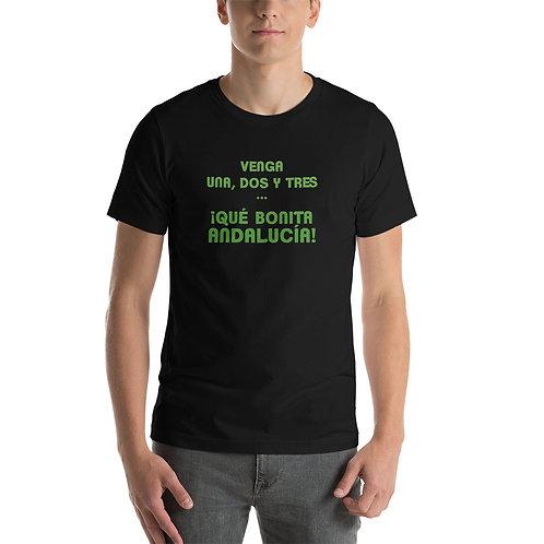 Camiseta Venga 1,2 y 3: Qué bonita Andalucia'