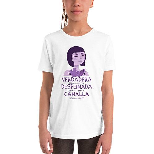 Camiseta Niñ@ 'Verdadera como la guerra'