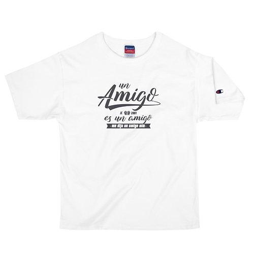 """Camiseta Champion hombre """"Un amigo"""""""