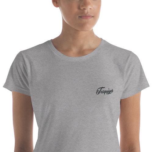 """Camiseta bordada """"Tesquiyá"""""""