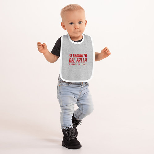 Babero bebé bordado 'Si caminito del Falla'