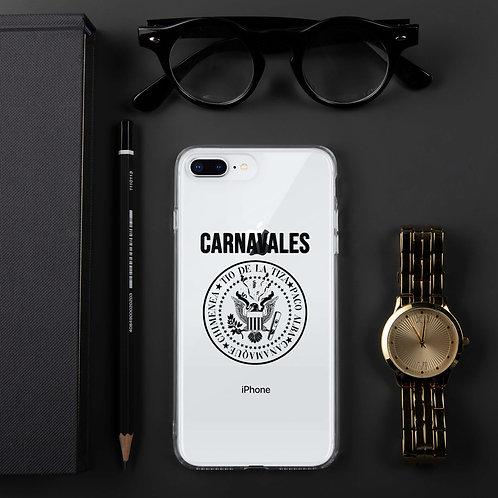 Carcasa iPhone 'Carnavales: Tío de la Tiza, Paco Alba, Cañamaque, Chimenea'