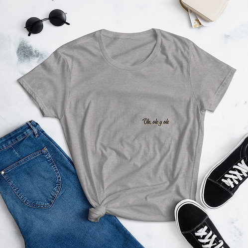 Camiseta 'Ole, ole y ole'