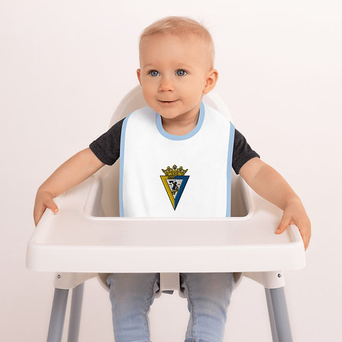 Babero de bebé bordado 'Carnaval CF'