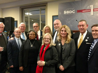 Pace SBDC Director Andrew Flamm & NYSBDC colleagues at the America's SBDC Client Showcase