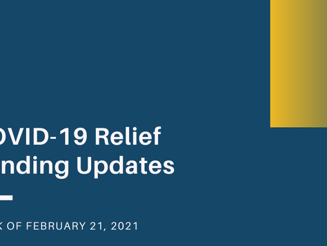 COVID-19 Relief Updates: PPP changes and small business grants