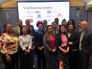 The Pace SBDC & the SBA's New York District office co-hosted a small business lending panel and networking session with eleven banks and community lenders