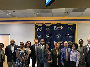 The Pace SBDC & Turner Construction hosted a financial resources session with the SBA's NY District Office as part of the SBDC's MWBE & Small Business Contractor Training Program