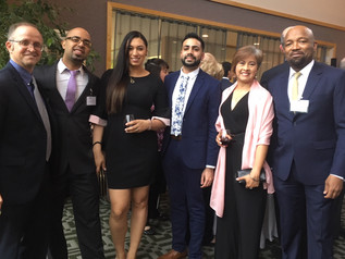 The Pace SBDC team with the center's client Guacuco, winner of the 2018 NYSBDC Impact Business of the Year award