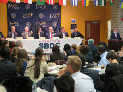 "Lessons from ""Meet the Small Business Bankers"" Panel"