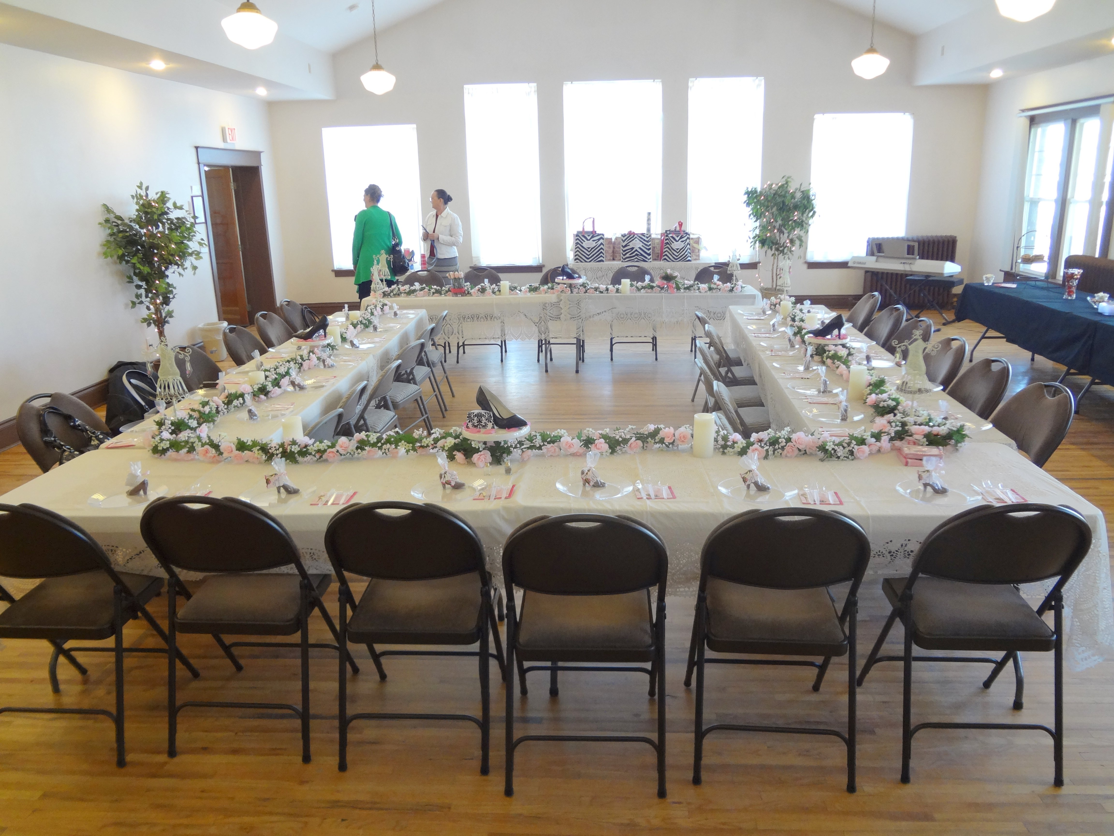 Church Ladies Luncheon for 35 guests at Woman's Club of Spokane