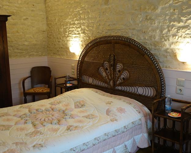 Une chambre cosy aux tons pastel