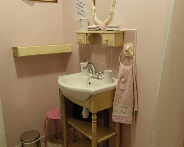 La coquette salle d'eau