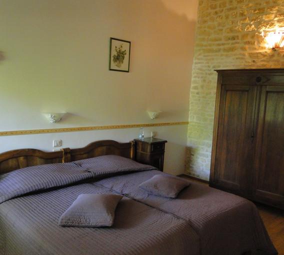 Les vignes avec son lit 180 de large