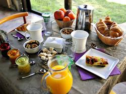 Le copieux petit déjeuner maison