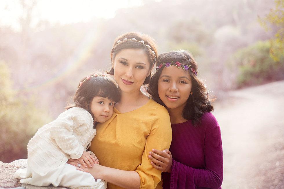 Pasadena-Mother-Daughter-Glamour-Photo-S