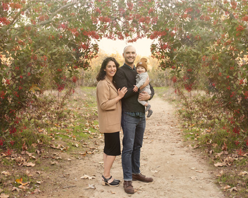 Family photoshoot in Pasadena California