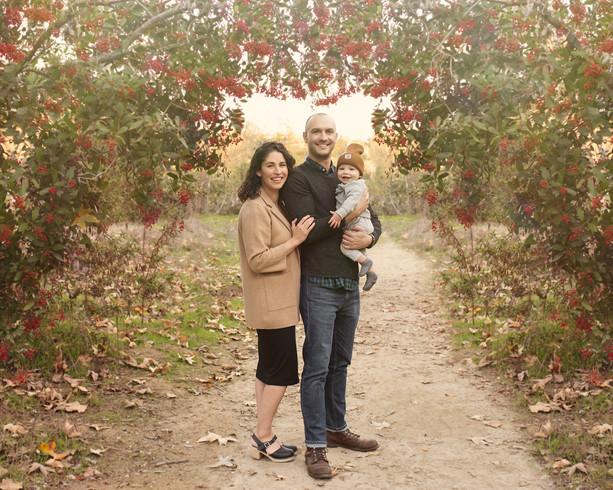 Family photoshoot in Pasadena California