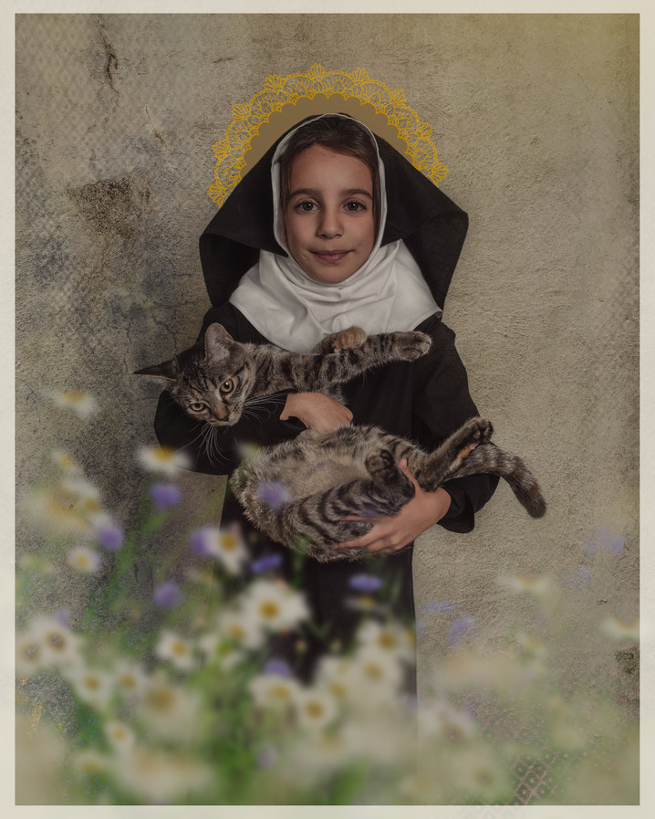 Saint-Gertrude-of-Nivelles-Bug-and-Bird-