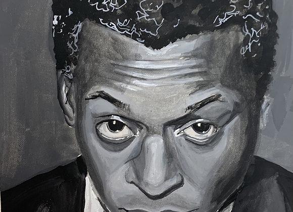 Miles Davis Original Painting