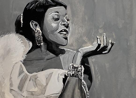 Dinah Washington Original Painting