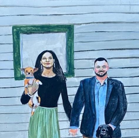 Joyce and Danny; 2020
