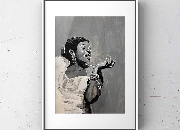 Dinah Washington Print