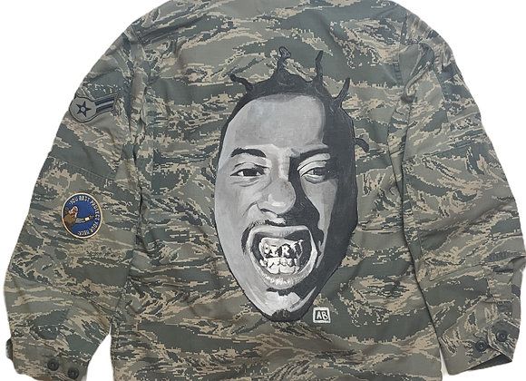 Unisex Hand-painted ODB Air Force Jacket