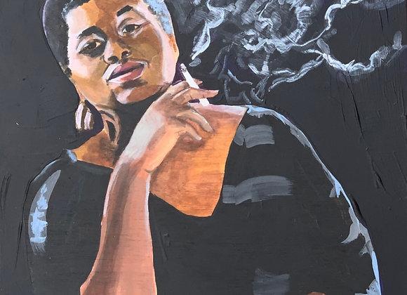Odetta Original Painting