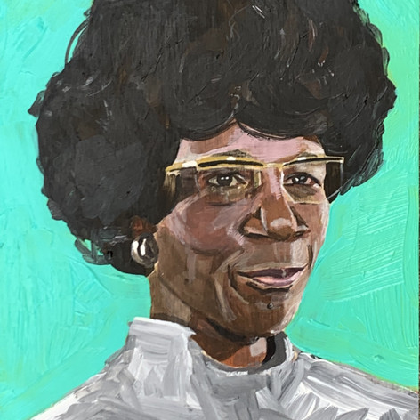 Shirley Chisholm; 2020