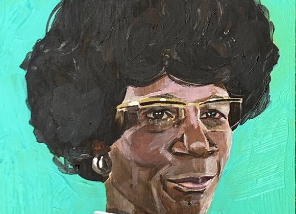 Shirley Chisholm Original Painting