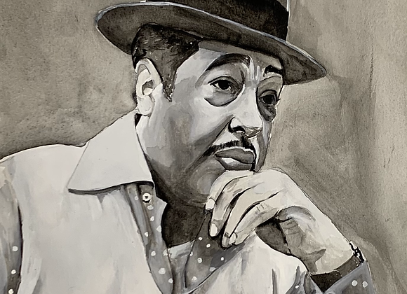 Duke Ellington Original Painting