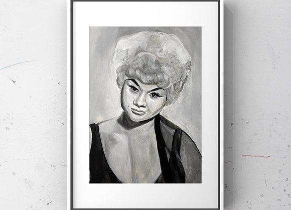 Etta James Print