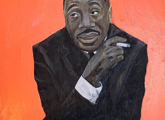 Dick Gregory Original Painting