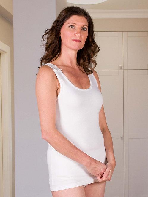 Podkoszulek z zatrzaskami - Bielizana dla kobiet z ograniczeniami w ruchu kończy