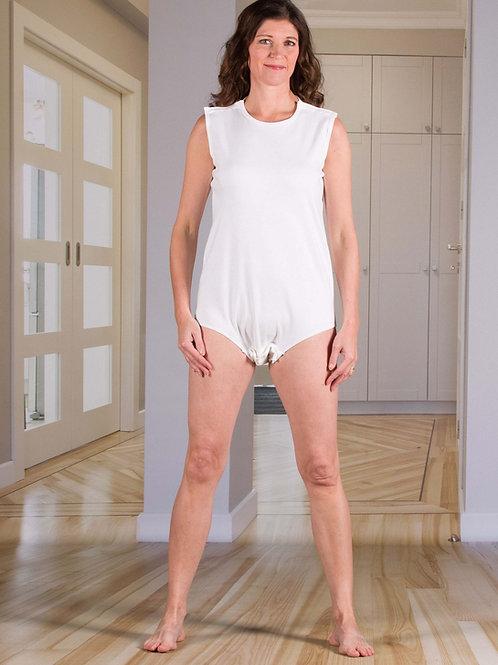 Body zatrzaski na ramionach - Bielizna dla pacjentów pielęgnowanych w łóżku