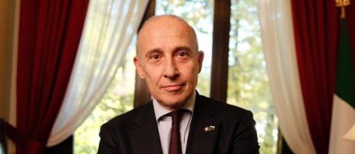 Il saluto del nuovo Ambasciatore d'Italia nella Federazione Russa Giorgio Starace
