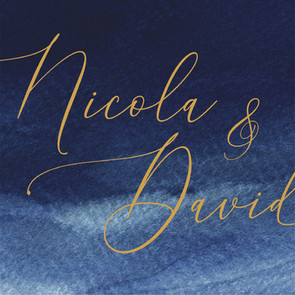 Nicola & David Wedding Stationery