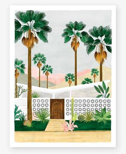 Palmspring print