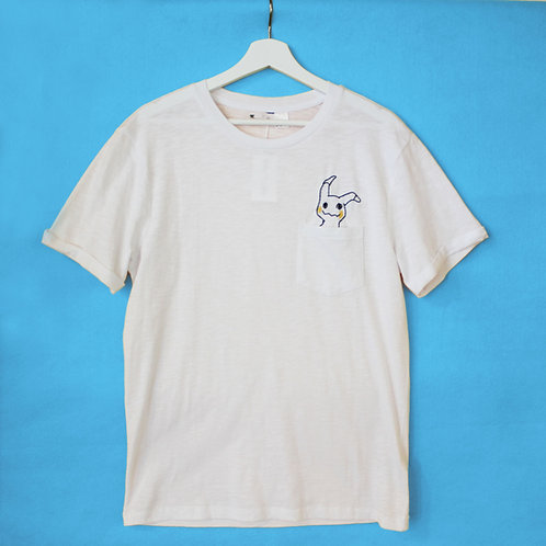 Pocket Embroidered Tee