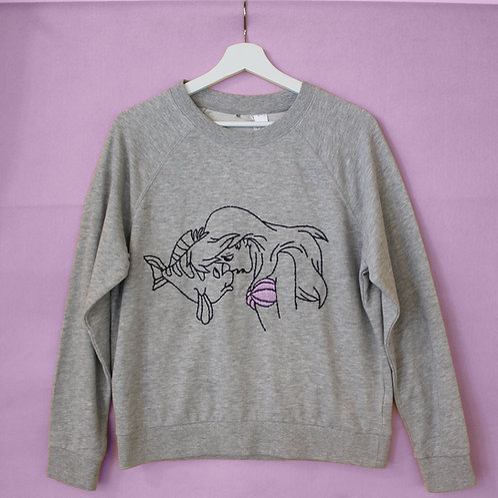 Hand Embroidered Sweatshirt