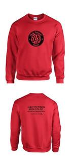 AP Classic Sweatshirt~Red