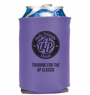 AP Classic Beer Coozie~Purple