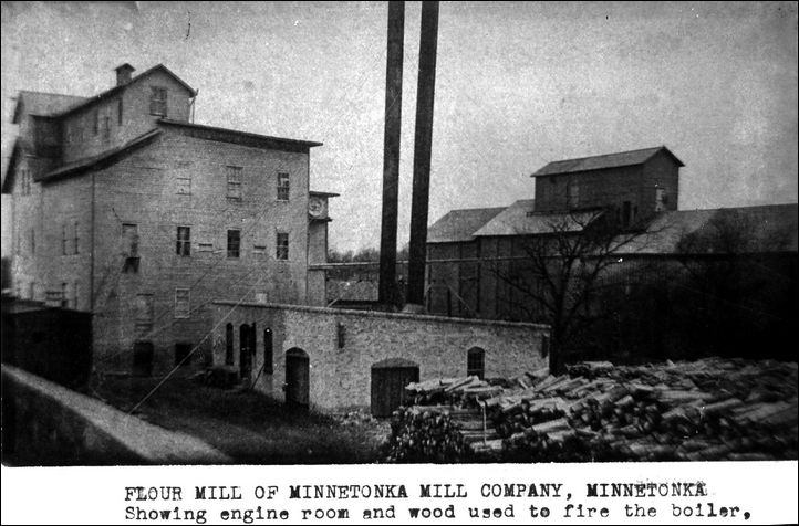 Flour mill of Mtka Mill Company