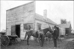 Blacksmith Torleif Larson 1855