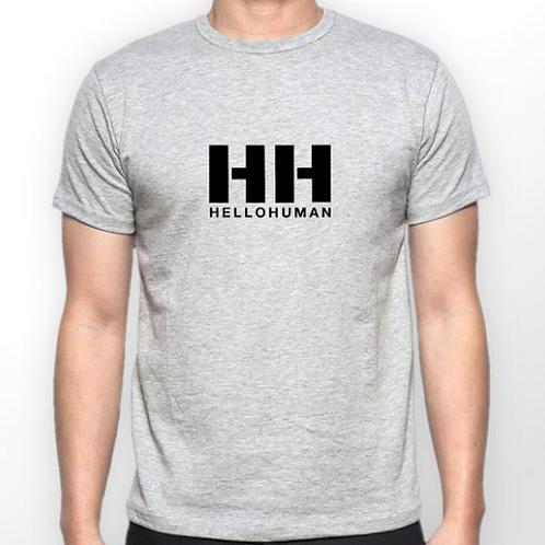 Mens Grey T-Shirt - HH Logo