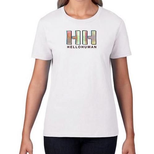 Womens White T-Shirt - HH Logo